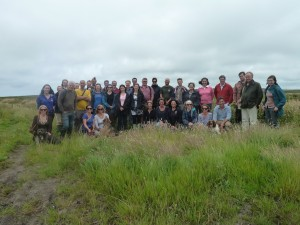 Photo from the Trust's staff day out