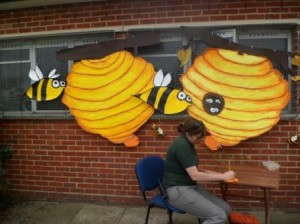 bee hive pledges up to see