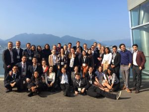Student delegation at the Clean Energy Ministerial meeting