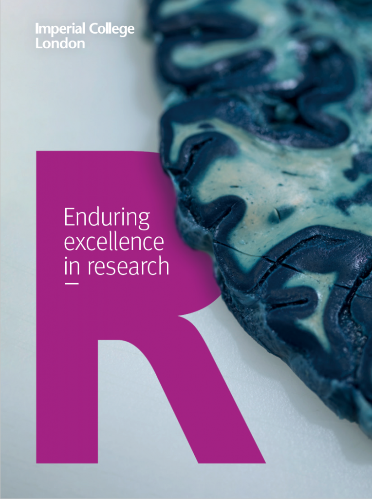 Enduring excellence in research cover