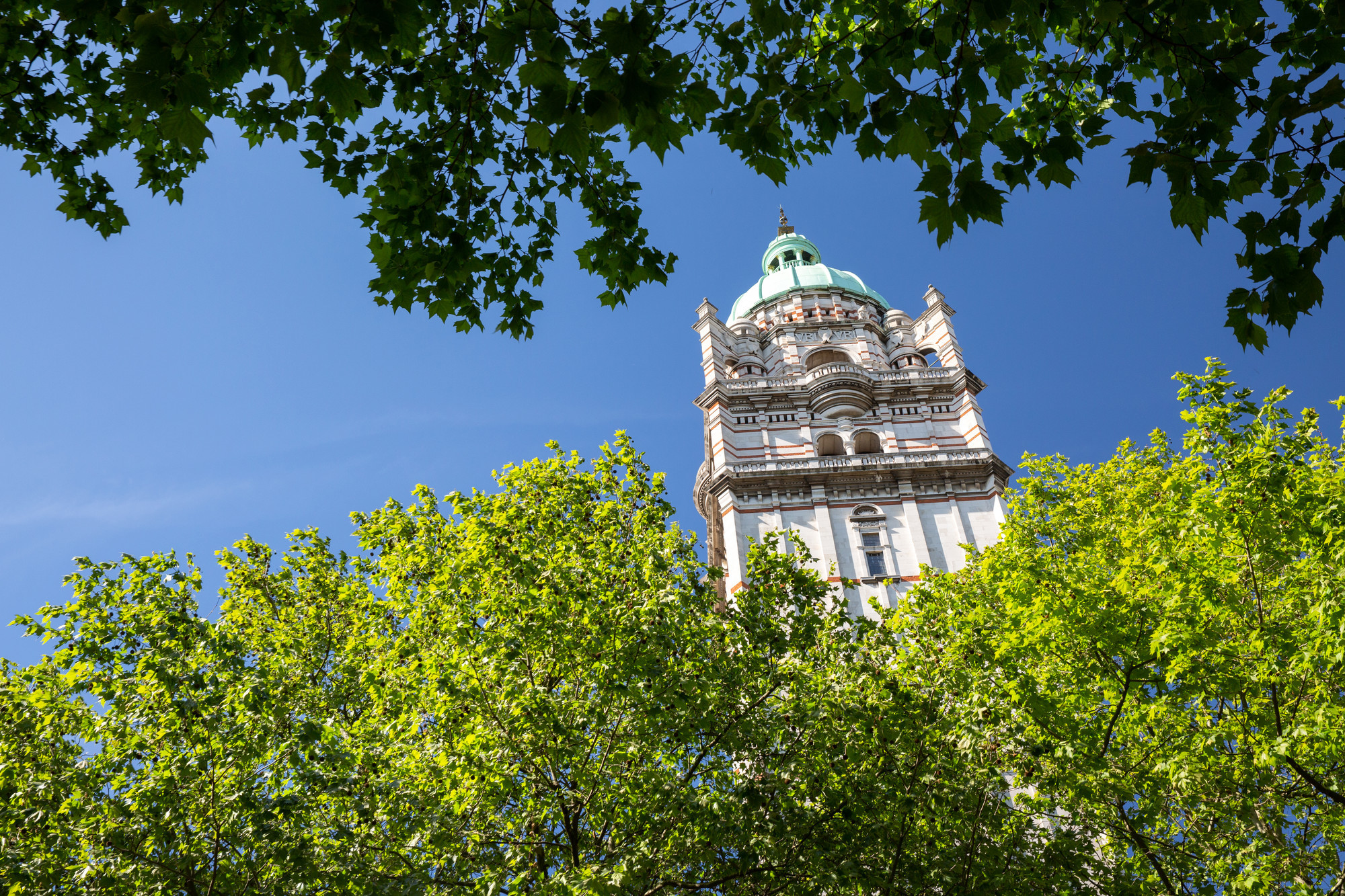 Queen's Tower at Imperial College