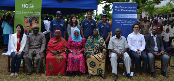 HGSF programme launched in Zanzibar
