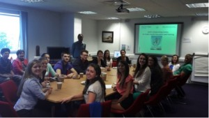 Educational Visit of Public Health Students from East Carolina University