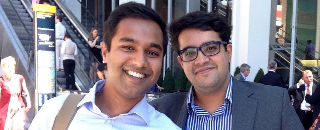 Rahul Ravindran and Ashik Amlani
