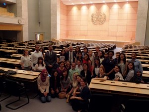 Masters of Public Health Educational Trip in Geneva