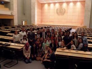 Masters of Public Health Educational Trip in Geneva