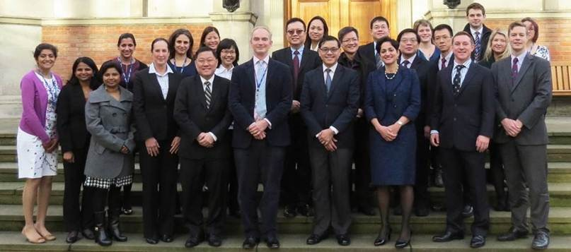 LKCMedicine clinical leads visit Imperial
