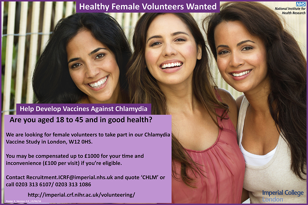 Healthy volunteers wanted