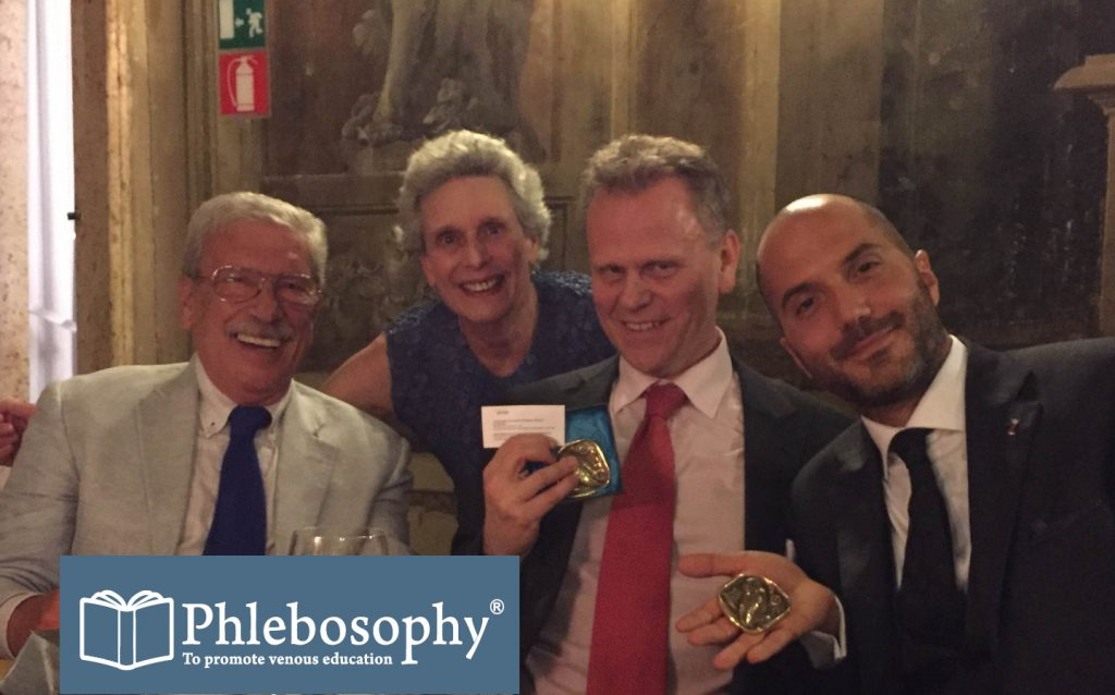 Mr Chris Lattimer wins Phlebosophy award in Venice