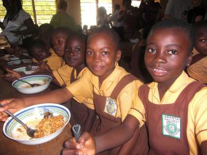 Image courtesy of the Ghana School Feeding programme
