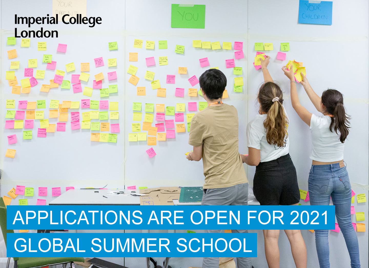 Applications open for 2021 online programme