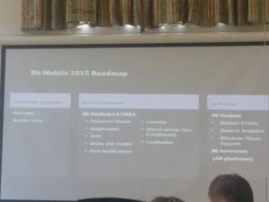 Bb Mobile 2015 Roadmap