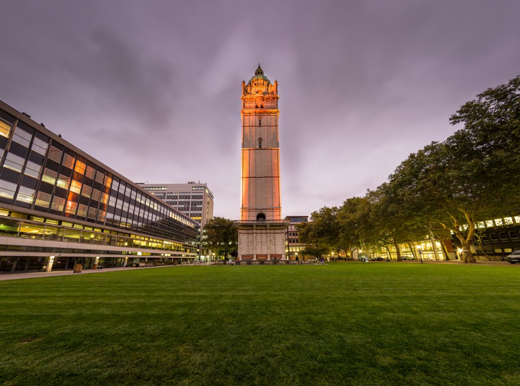 The Queen's Tower at Imperial campus