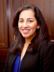 A photograph of Dr Saira Ghafur