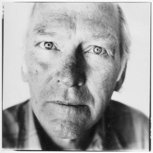 Photograph of Donald Davidson by Steve Pyke, 1990