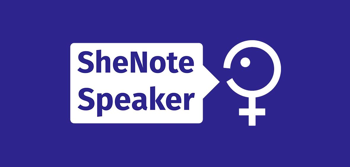 SheNote Speaker