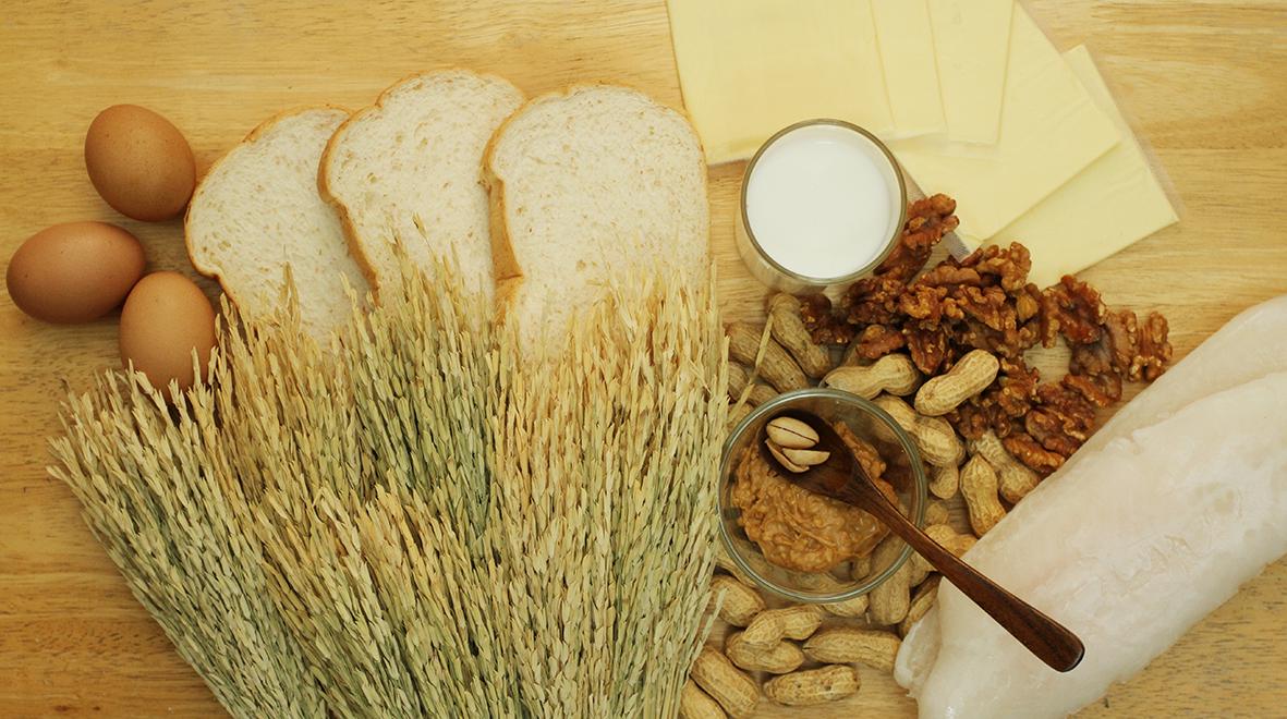 Food allergies eczema