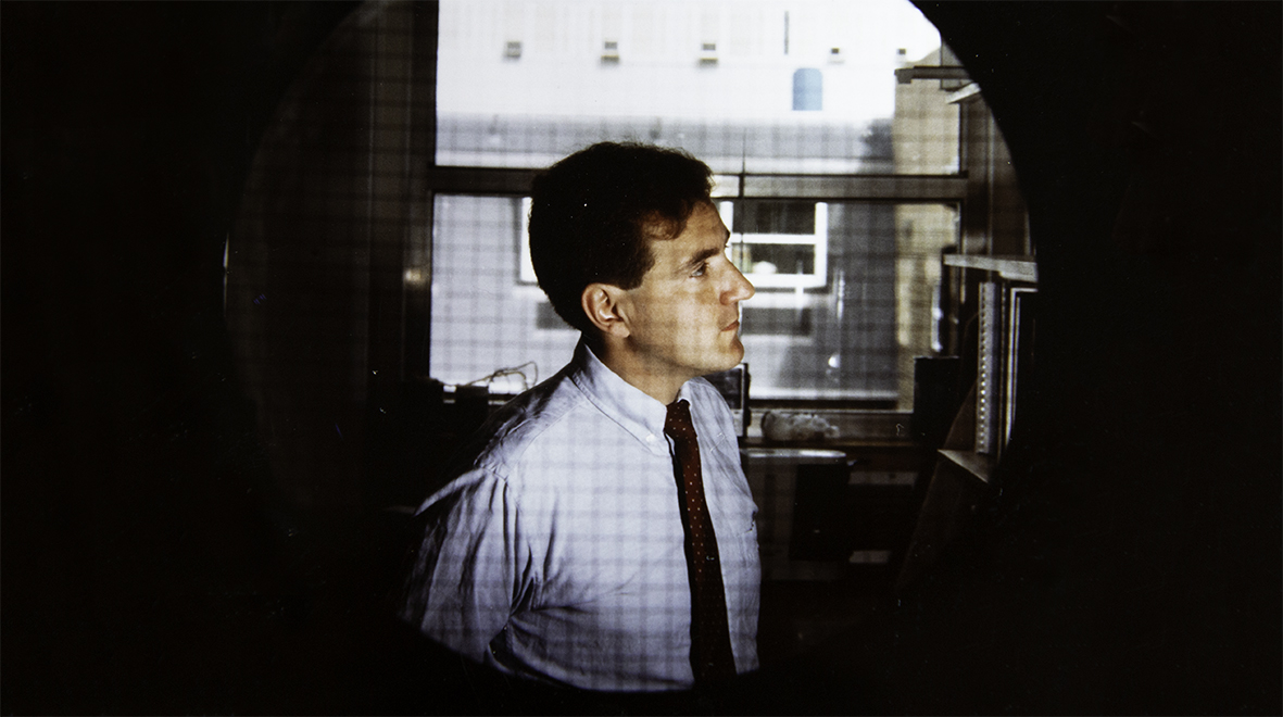 Jonathan Weber at Hammersmith Hospital in 1991