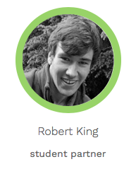 A picture of Robert King - author of the following paragraph