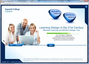 Home Page of BLEnDT and MOOCit