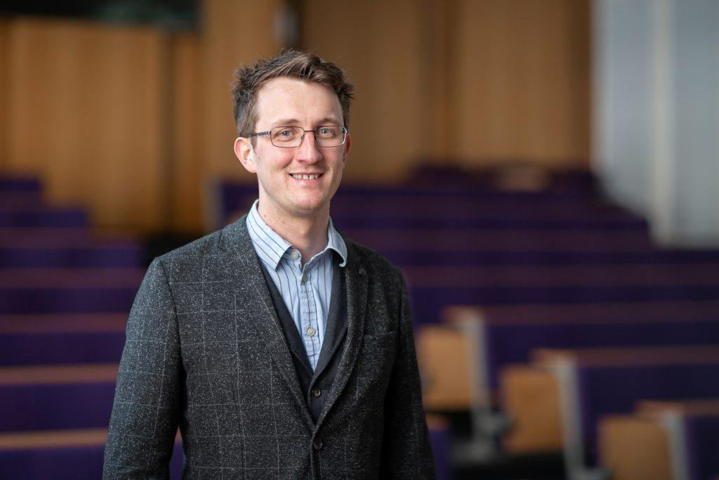 An image of Dr Ben Britton