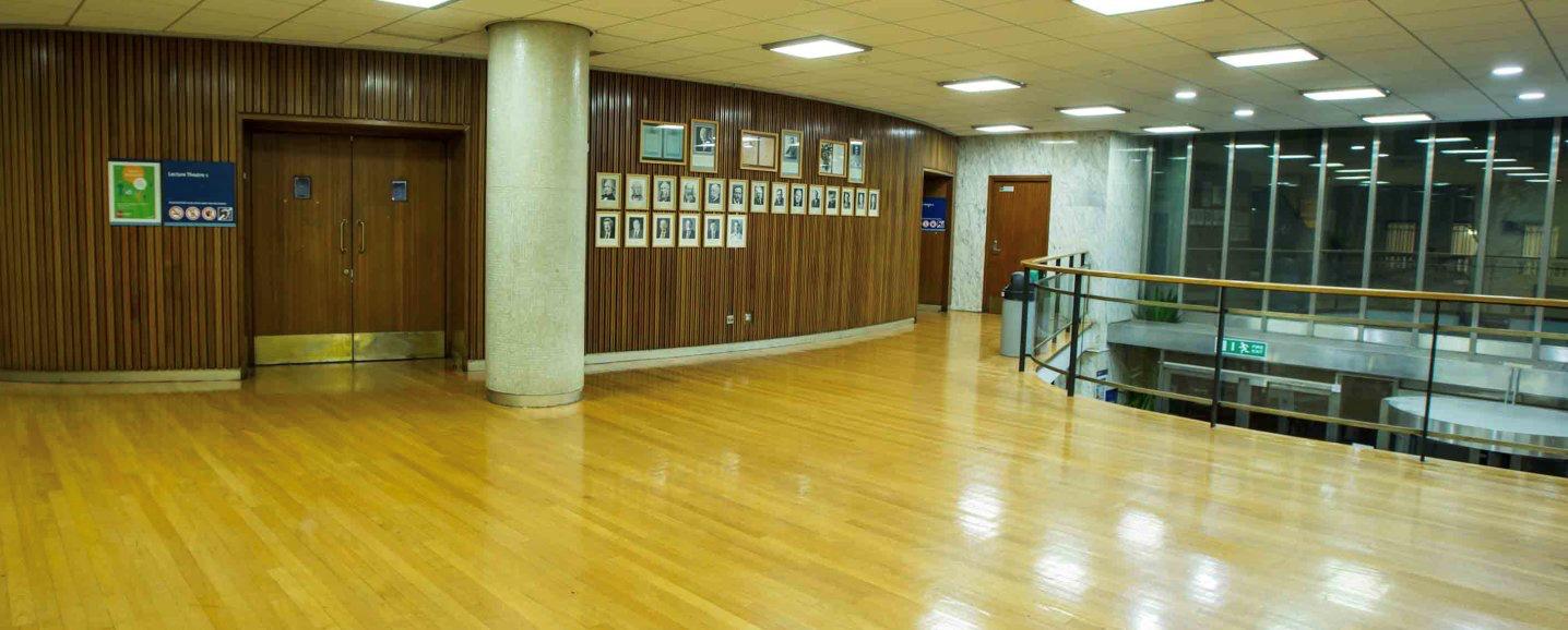 Blackett building foyer area