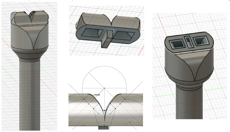Fusion360 model of final product's casing