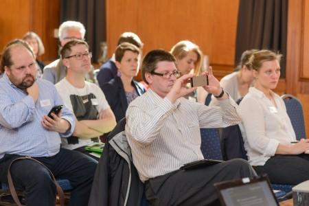 Audience at UK ORCID members meeting