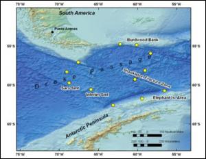 Drake Passage location