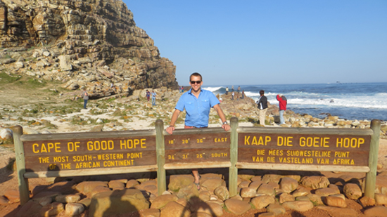 At the most southwestern point in Africa - amazing weather