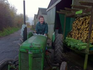 Compressed tractor