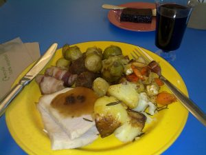 Free Christmas dinner at the Natural History Museum
