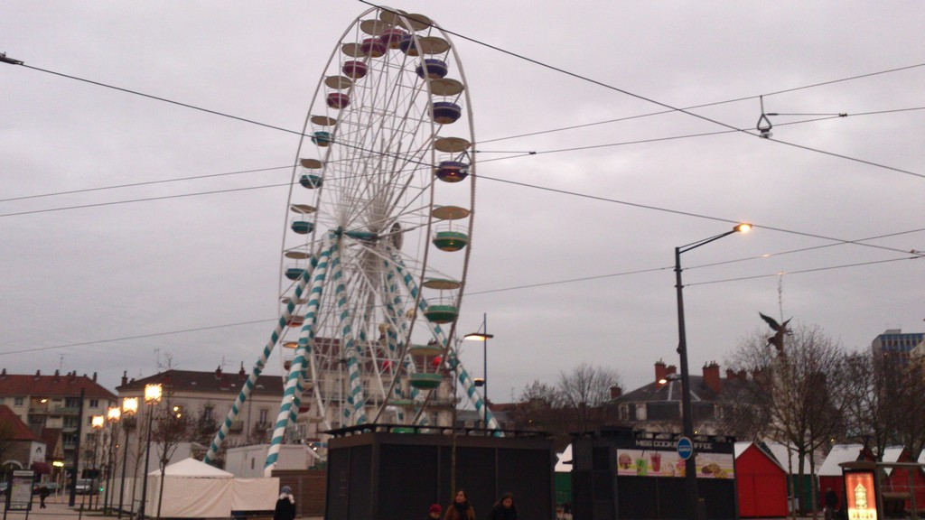 Ferris wheel in Dijon, France