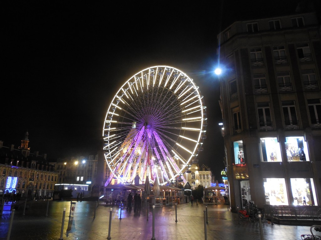 Ferris wheel in Lille