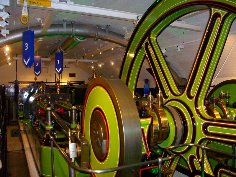 Victorian engines at Tower Bridge