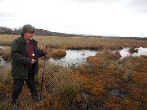 Fred Rumsey at Hartland Moor