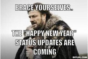 new year statues