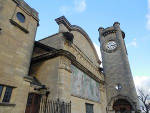 The exterior of the Horniman Museum