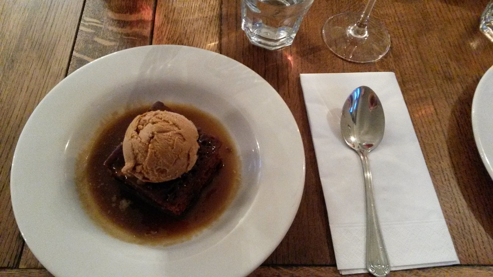 Sticky toffee pudding mmmm