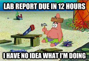 patrick lab report