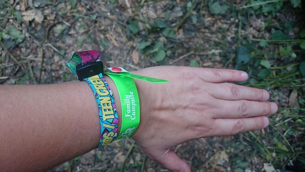 Latitude wrist bands