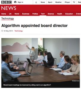 algorithm board director