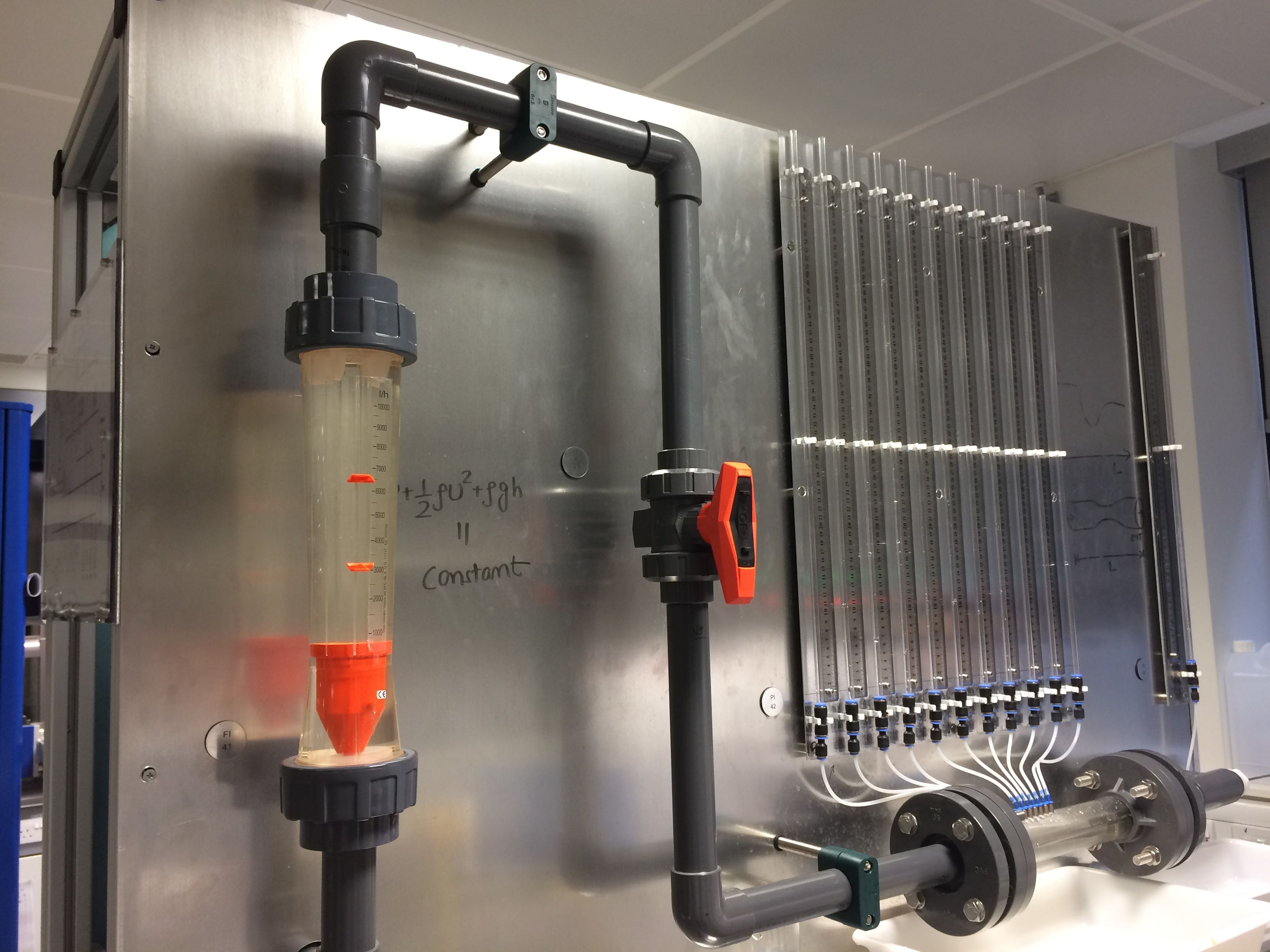 Venturi tube and rota meter. All about the flow...