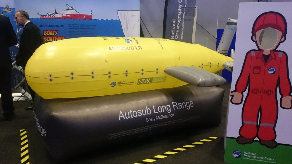 Inflatable Boaty McBoatface