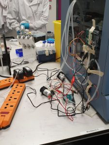 Experimental setup from Making and Prototyping
