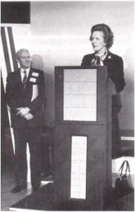 Margaret Thatcher Opening Tech2000