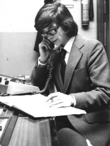 Mark Caldwell a former STOIC Chairman in January 1975
