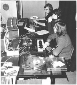 STOIC using the original TV Studio in 1971