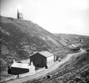 Tywarnhale Mine c1950's