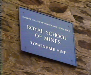 RSM sign at the Tywarnhale mine site
